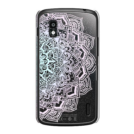 Nexus 4 Cases - Pastel Lace Mandala