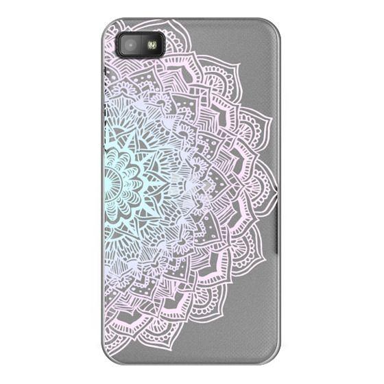 Blackberry Z10 Cases - Pastel Lace Mandala