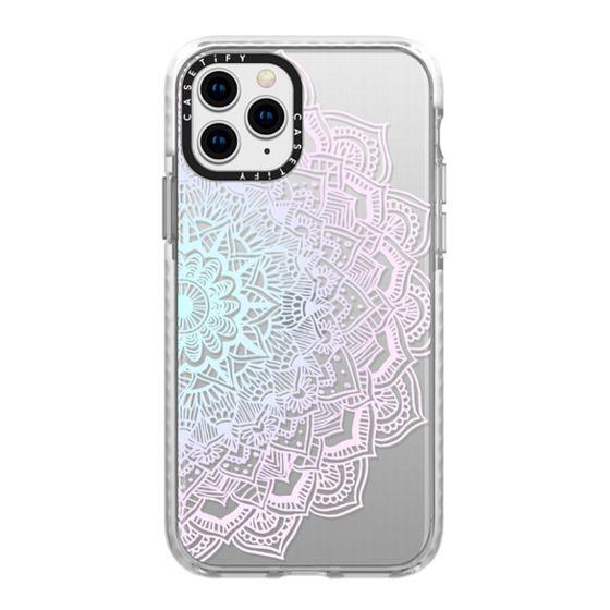 iPhone 11 Pro Cases - Pastel Lace Mandala
