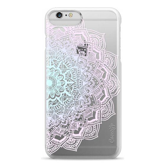 iPhone 6 Plus Cases - Pastel Lace Mandala