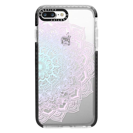 iPhone 7 Plus Cases - Pastel Lace Mandala