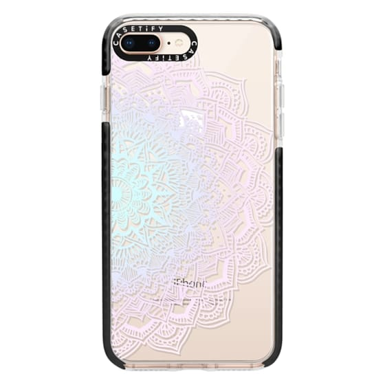 iPhone 8 Plus Cases - Pastel Lace Mandala
