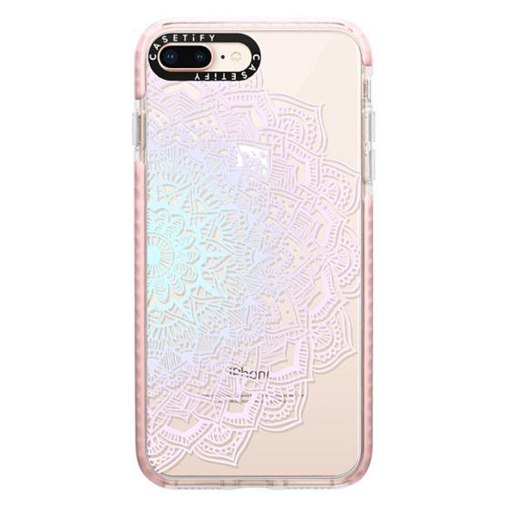 iPhone 8 Plus Cases - Pastel Lace Mandala