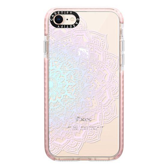 iPhone 8 Cases - Pastel Lace Mandala