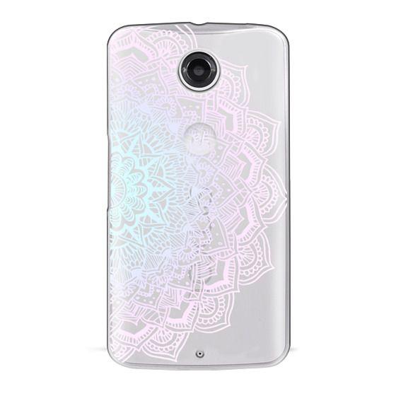Nexus 6 Cases - Pastel Lace Mandala
