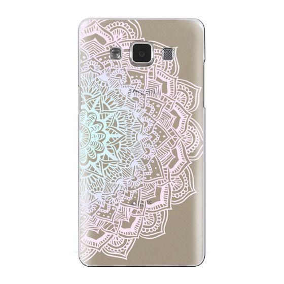 Samsung Galaxy A5 Cases - Pastel Lace Mandala