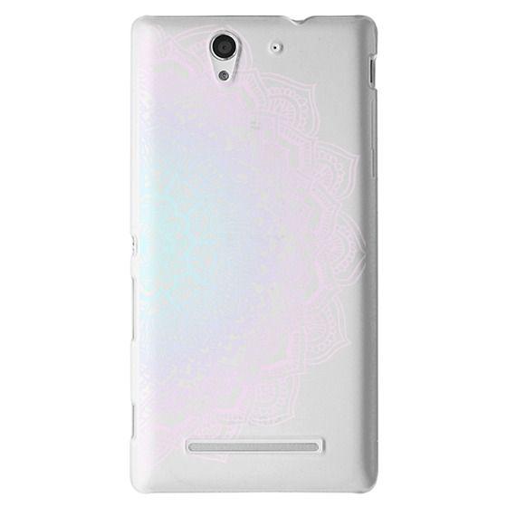 Sony C3 Cases - Pastel Lace Mandala