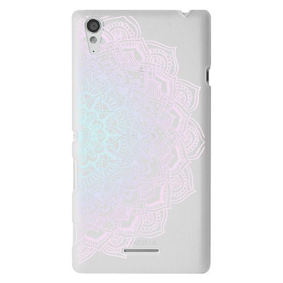 Sony T3 Cases - Pastel Lace Mandala