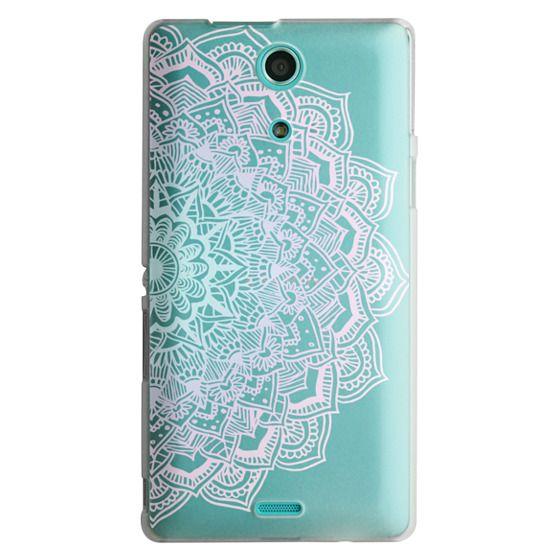 Sony Zr Cases - Pastel Lace Mandala