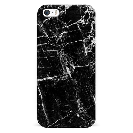 iPhone 4 Cases - Blk Marble