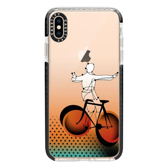 iPhone XS Max Cases - bicycle trick fixed gear