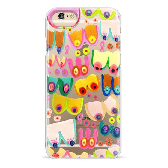 iPhone 6s Cases - Rainbow Rack Clear