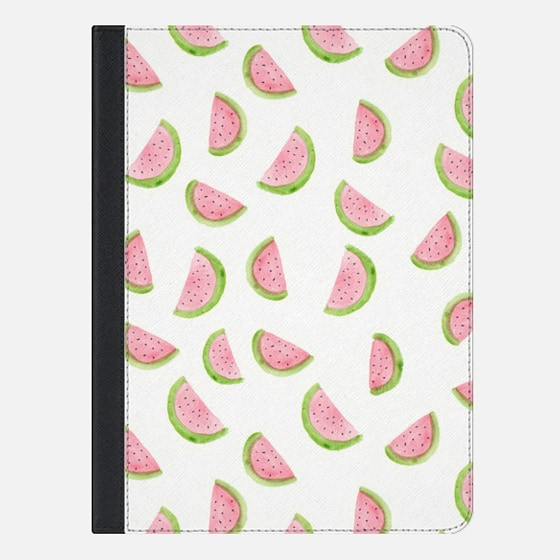 Wonder Forest Watercolor Watermelon iPad Case