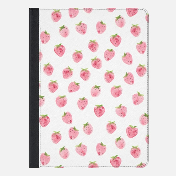 Strawberry iPad Case by Wonder Forest