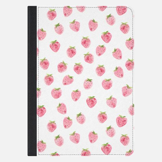 Strawberry iPad Case by Wonder Forest