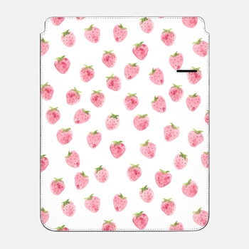 "iPad Pro 12.9"" Sleeve Strawberry iPad Case by Wonder Forest"