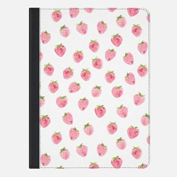 "iPad Pro 9.7"" ケース Strawberry iPad Case by Wonder Forest"