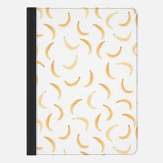 Watercolor Banana iPad Case by Wonder Forest
