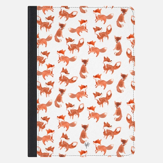 Forest Foxes iPad Case by Wonder Forest