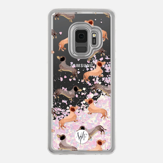 Darling Dachshunds - Transparent Case by Wonder Forest