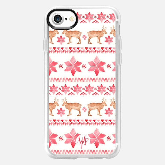 Christmas Sweater - Watercolour Painted Case by Wonder Forest -