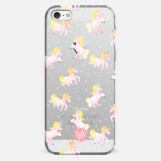 Magical Unicorns Transparent Case by Wonder Forest