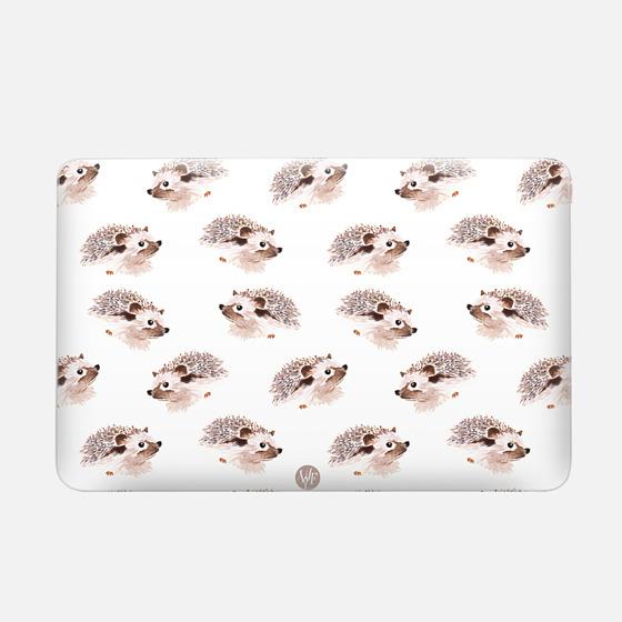 Wonder Forest Happy Hedgehog Macbook Case