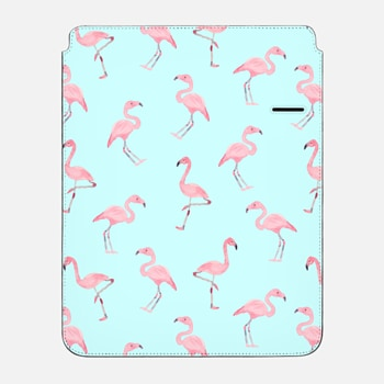 "iPad Pro 12.9"" Sleeve Pink Flamingos by Wonder Forest iPad Case"