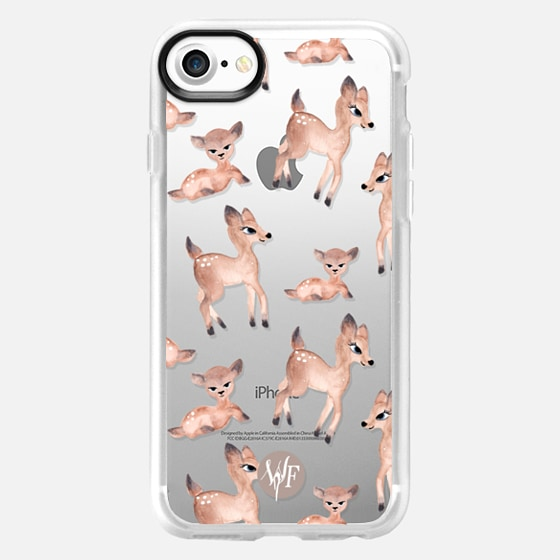 Darling Deer Clear Case by Wonder Forest - Wallet Case