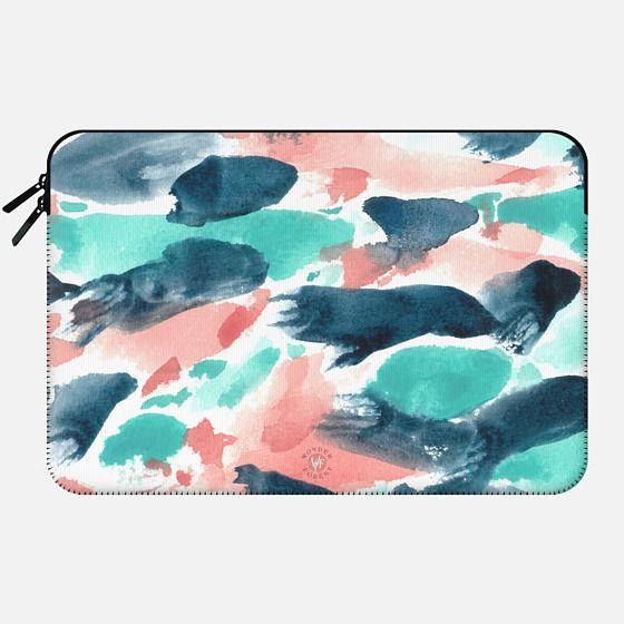 Different Strokes Macbook Case by Wonder Forest -