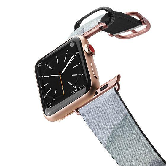 Apple Watch 42mm Bands - Mountain Mist Apple Watchband by Wonder Forest