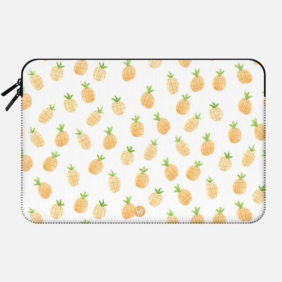 Wonder Forest Pineapples Macbook Case -