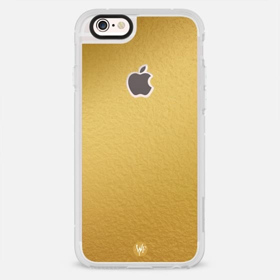 Simply Solid Gold Foil Case by Wonder Forest - New Standard Case