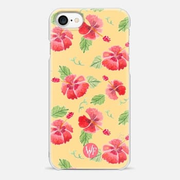 iPhone 7 Case Hawaii Hibiscus by Wonder Forest