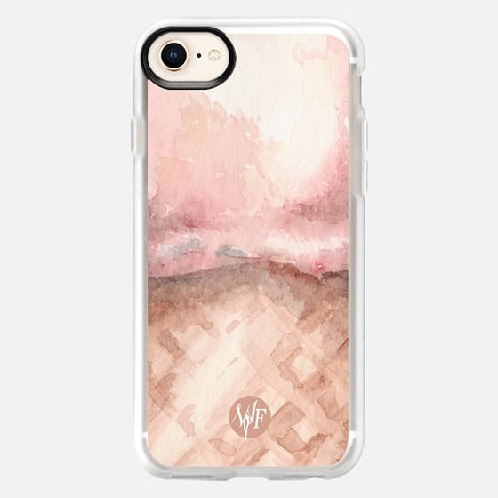 Ice Cream Everywhere - Strawberry by Wonder Forest - Snap Case
