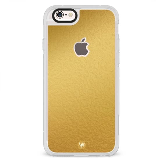 Simply Solid Gold Foil Case by Wonder Forest