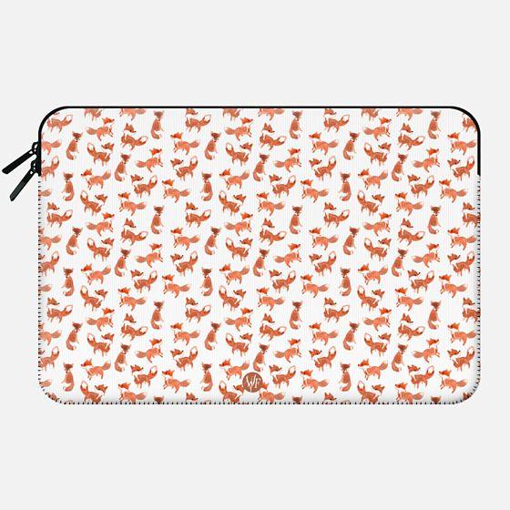 Wonder Forest - Forest Foxes Macbook Case -