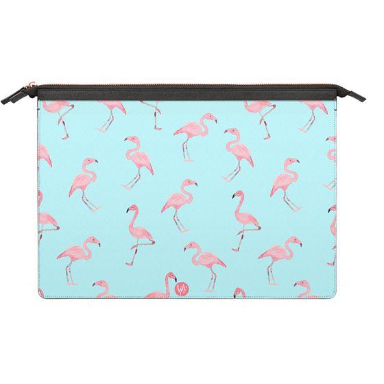 MacBook Air 13 Sleeves - Pink Flamingos by Wonder Forest MacBook Case