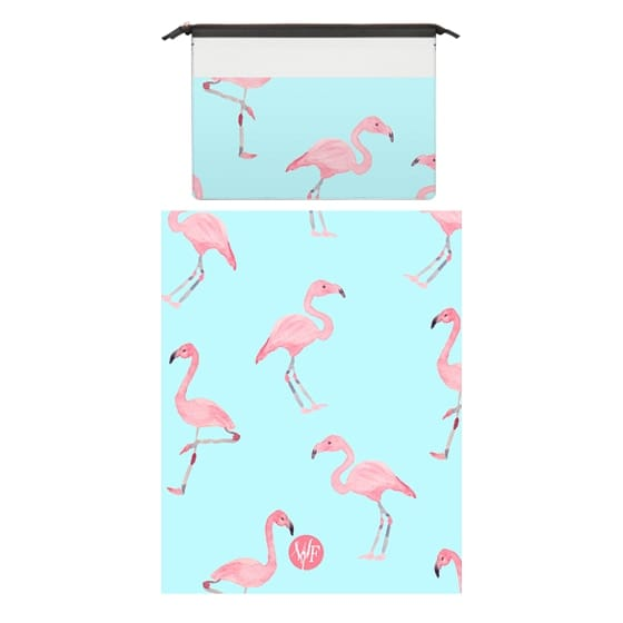 MacBook Pro 15 Sleeves - Pink Flamingos by Wonder Forest MacBook Case