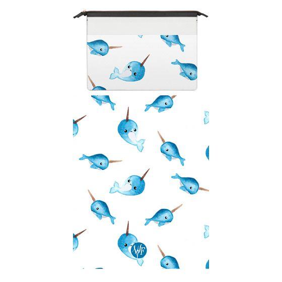 MacBook 12 Sleeves - Wonder Forest Nutty Narwhal Macbook Case