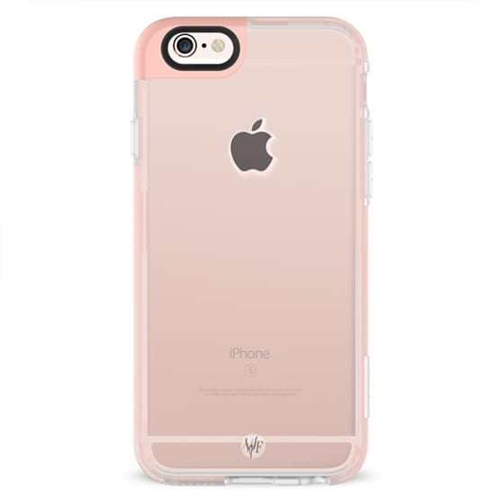 Rose Gold - Simply Solid iPhone Case by Wonder Forest