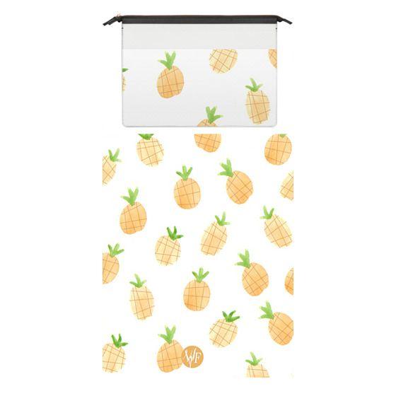 MacBook Pro 15 Sleeves - Wonder Forest Pineapples Macbook Case