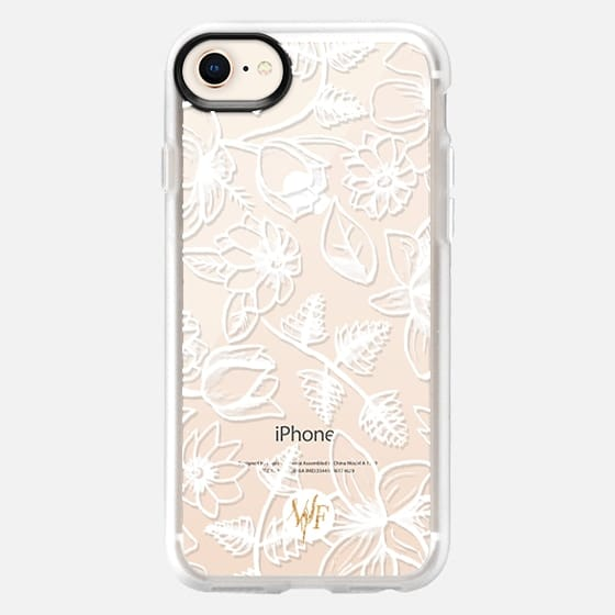 Floral Feelings by Wonder Forest Clear Case - Snap Case