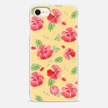 iPhone 8 Case Hawaii Hibiscus by Wonder Forest