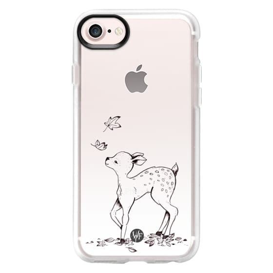 iPhone 7 Cases - Forest Fawn Case by Wonder Forest