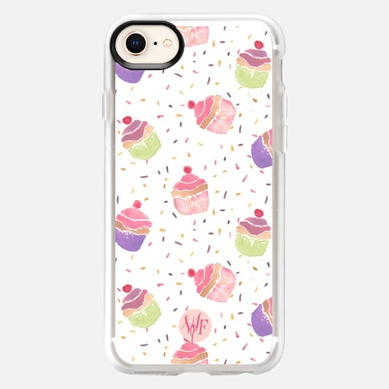 Hooray For Cupcakes  - Watercolor Painted Case by Wonder Forest - Snap Case