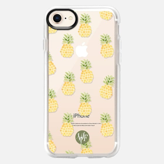 Pineapple Express Clear Case by Wonder Forest - Snap Case