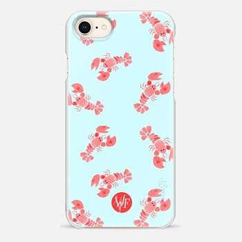 iPhone 8 Case Little Lobsters by Wonder Forest