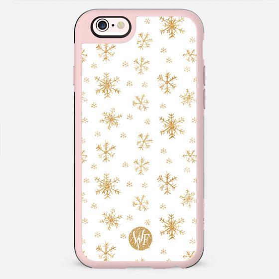 Let It Snow Sparkle Case -