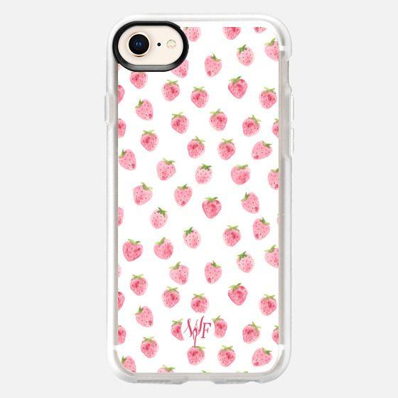 Strawberries Case by Wonder Forest - Snap Case